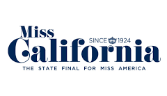 Press badge Miss California Angelina Haole Couture